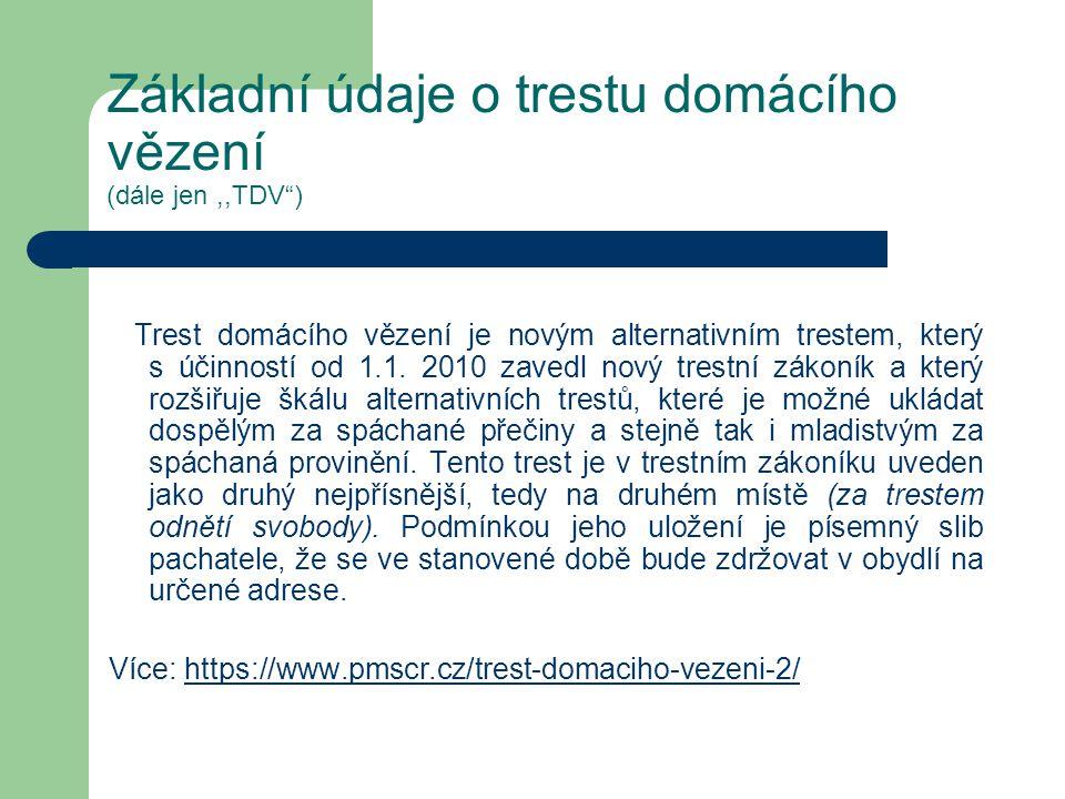 Statistika- stav k 29.02.2012 Probační a mediační služba ČR zpracovala (nebo v současné době zpracovává) již 970 stanovisek k vhodnosti uložení trestu domácího vězení.