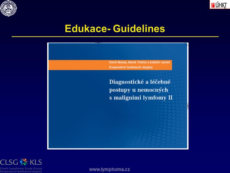 www.lymphoma.cz Edukace- Guidelines www.lymphoma.cz