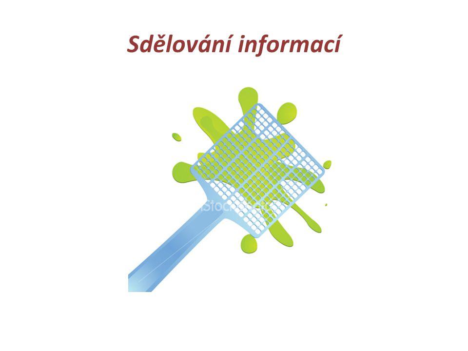 Sdělování informací