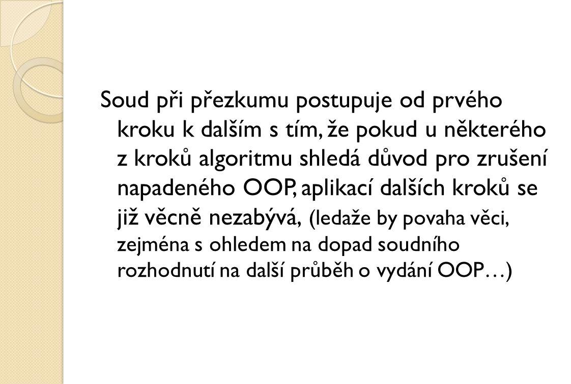 5 Ao 3/2007 – 118 ze dne 3.listopadu 2010 změna č.