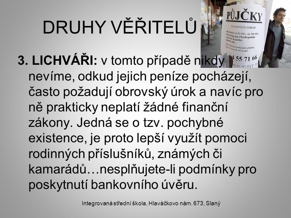 DRUHY VĚŘITELŮ 3.