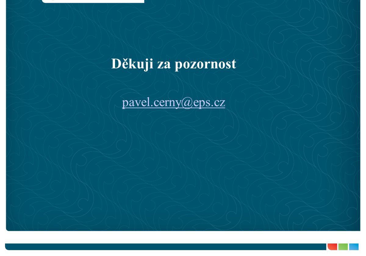 Děkuji za pozornost pavel.cerny@eps.cz