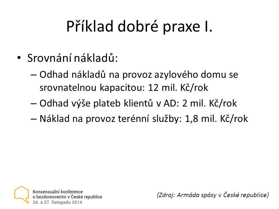 Příklad dobré praxe I.