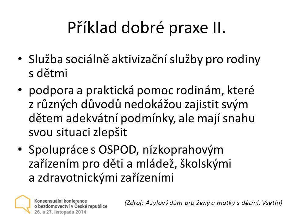Příklad dobré praxe II.