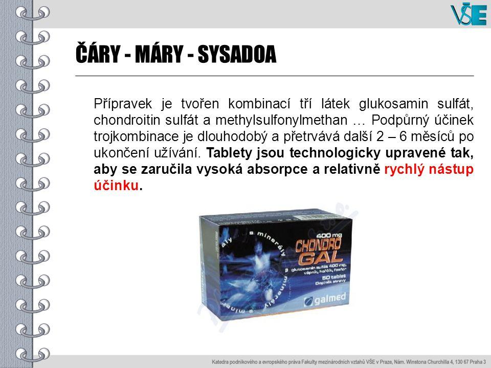 Látky ze skupiny SYSADOA a rychlý nástup účinku.