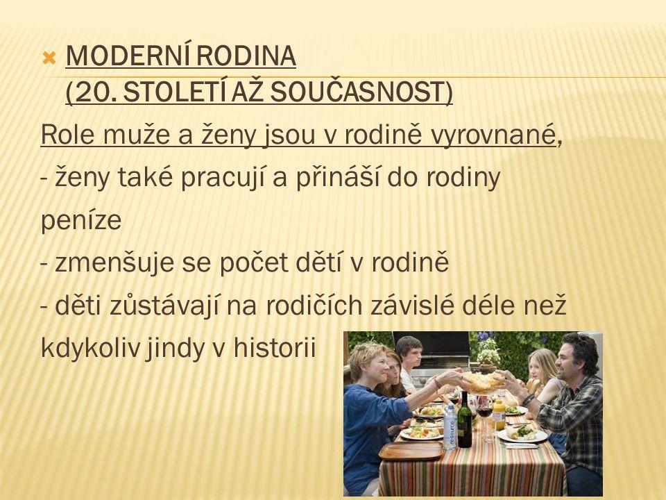  MODERNÍ RODINA (20.