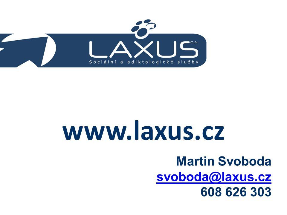 www.laxus.cz Martin Svoboda svoboda@laxus.cz 608 626 303