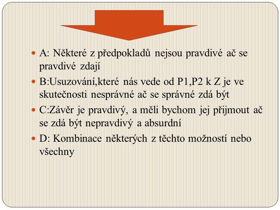 Řešení paradoxu hromady (sorites) 1.Reglementace předpokladů par.