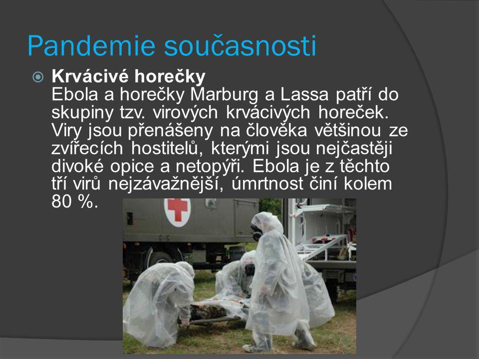 Pandemické desatero 1) Pandemická chřipka je něco jiného než ptačí chřipka 2) Pandemie chřipky se v historii opakují 3) Svět je možná na pokraji další pandemie 4) Postiženy budou všechny země 5) Onemocnění bude velmi rozšířené 6) Zásoby léčiv budou nedostatečné 7)Počet úmrtí bude značný 8) Dojde k velkému narušení hospodářství a společnosti 9) Každá země musí být připravena 10) Když hrozba pandemie vzroste, SZO bude svět varovat