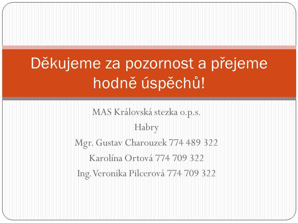 MAS Královská stezka o.p.s. Habry Mgr.