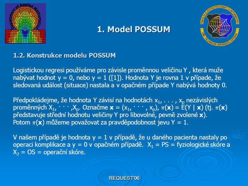 REQUEST 06 1. Model POSSUM 1.2.