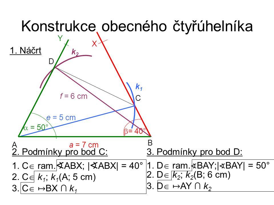 2. C  k 1 ; k 1 (A; 5 cm) 1. C  ram. ∢ ABX; | ∢ ABX| = 40° 3.