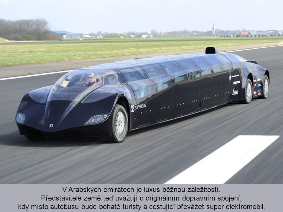 Superbus - nejrychlejší hromadná doprava? Budoucnost dopravy samozřejmě do značné míry spočívá v rychlosti. I přes budování kvalitních dálnic stále ne