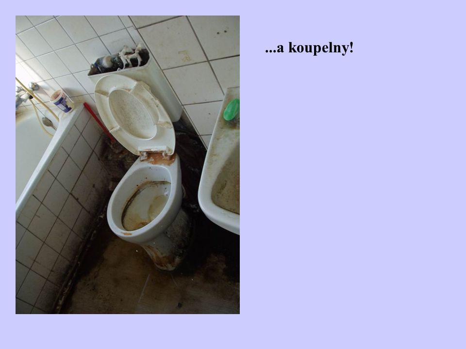 ...a koupelny!