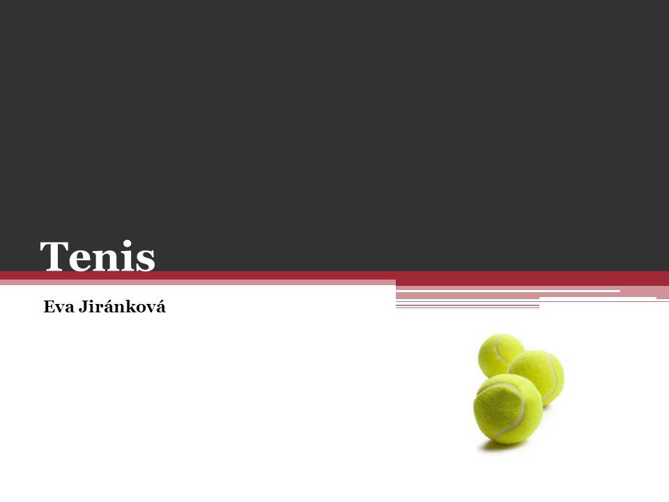Tenis Eva Jiránková