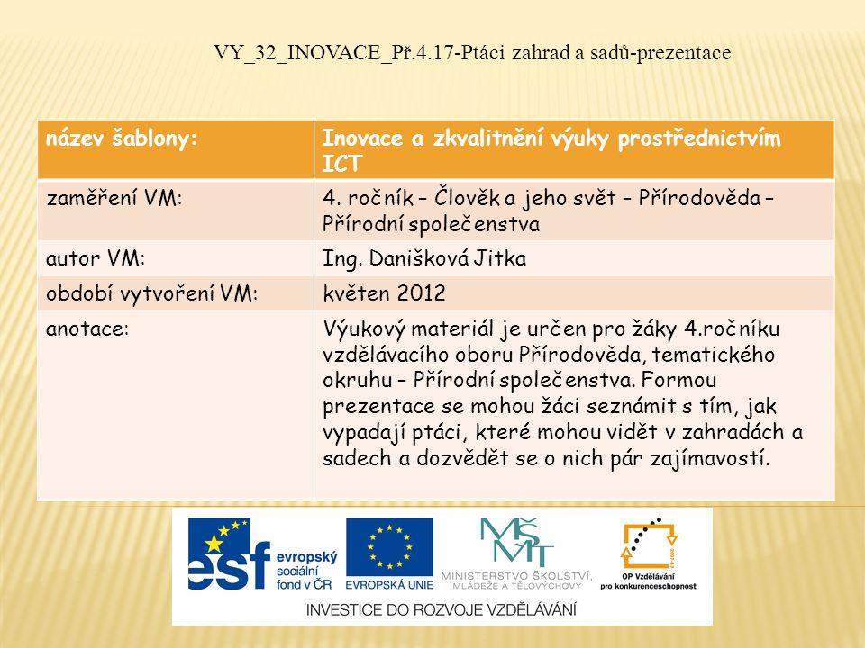 V letech 2001-2003 v Česku hnízdilo odhadem 2,8 - 5,6 milionu párů.
