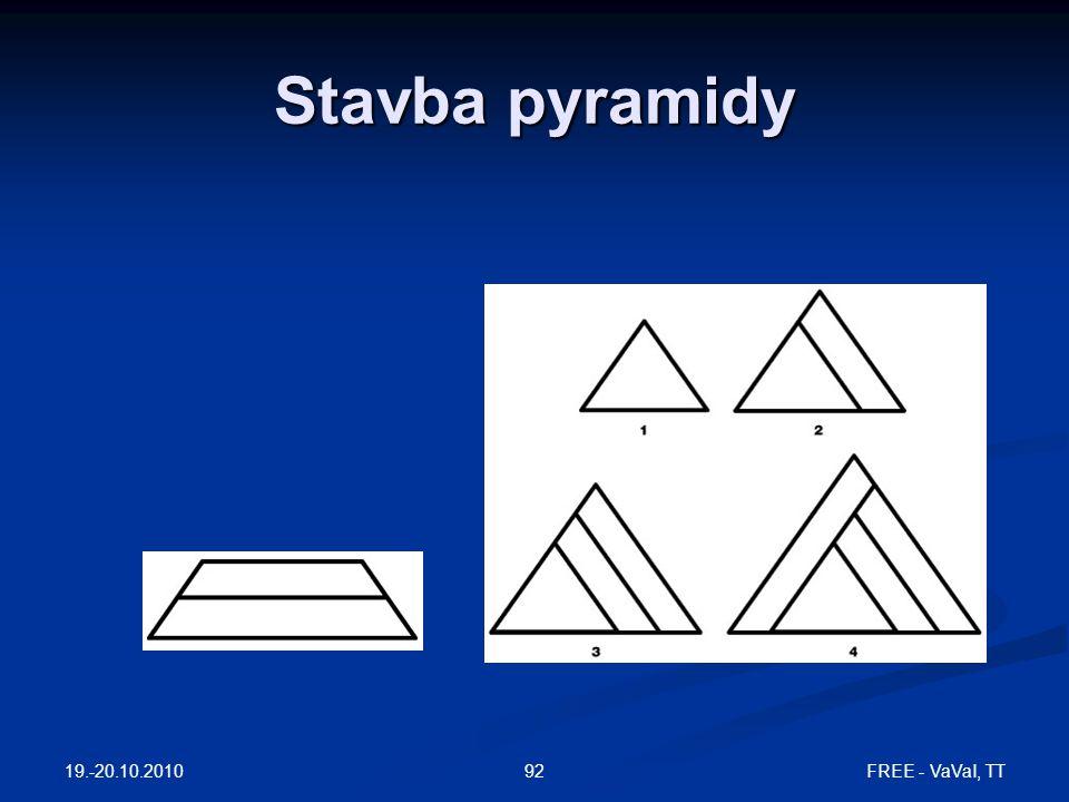 Stavba pyramidy 19.-20.10.2010 FREE - VaVaI, TT92