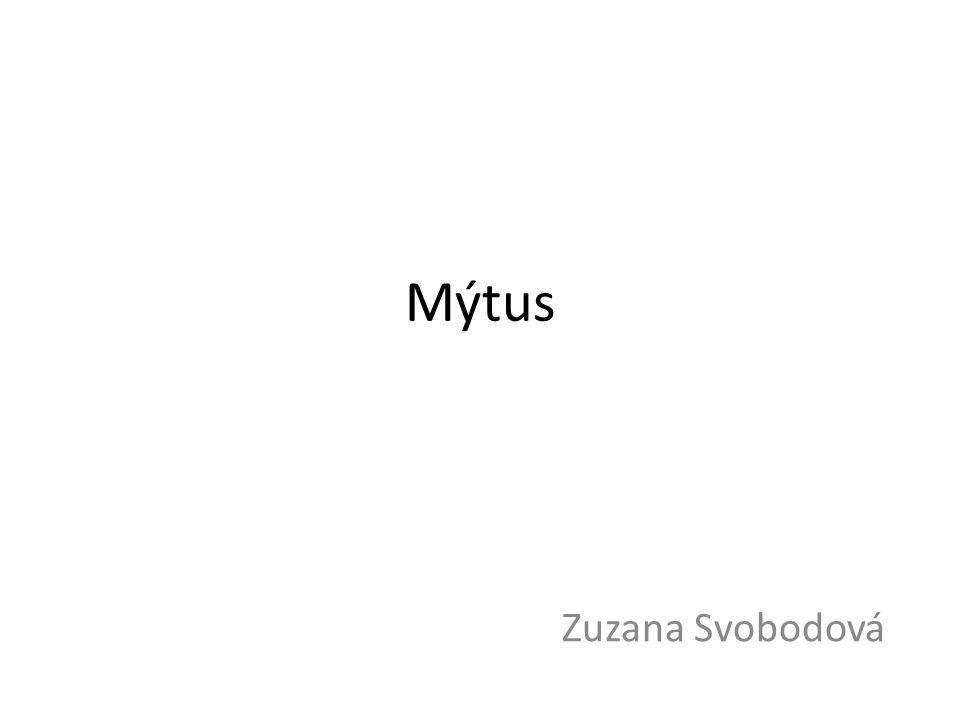 Mýtus Zuzana Svobodová