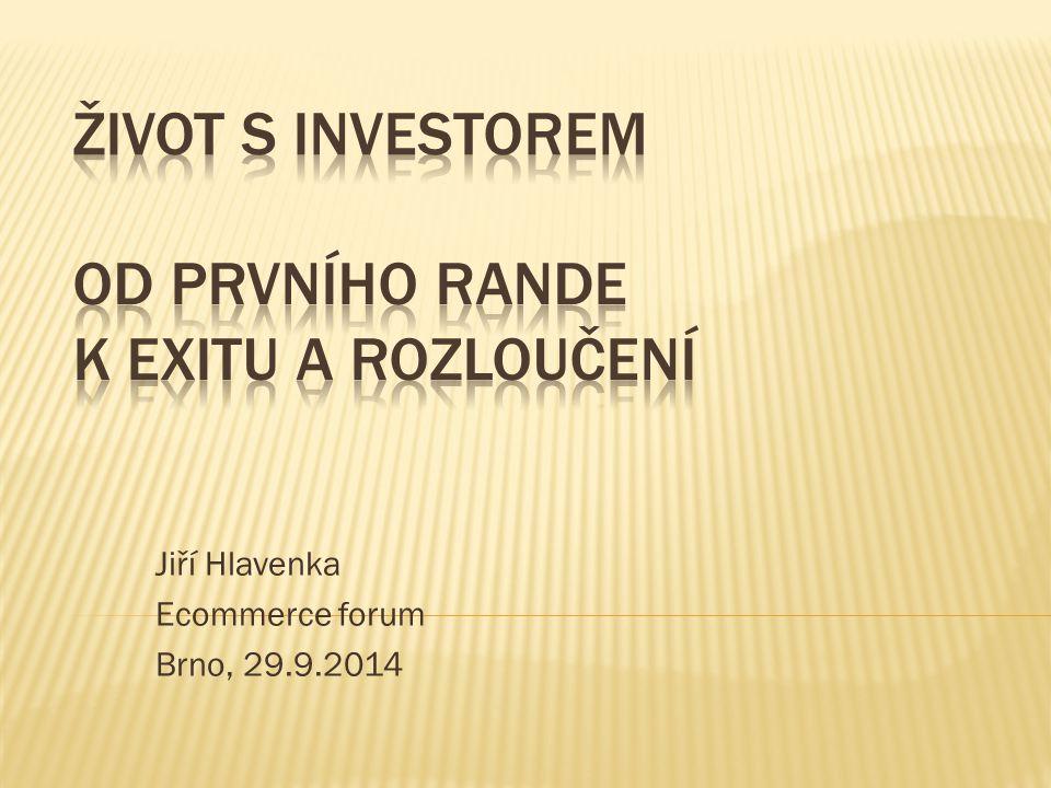 Jiří Hlavenka Ecommerce forum Brno, 29.9.2014