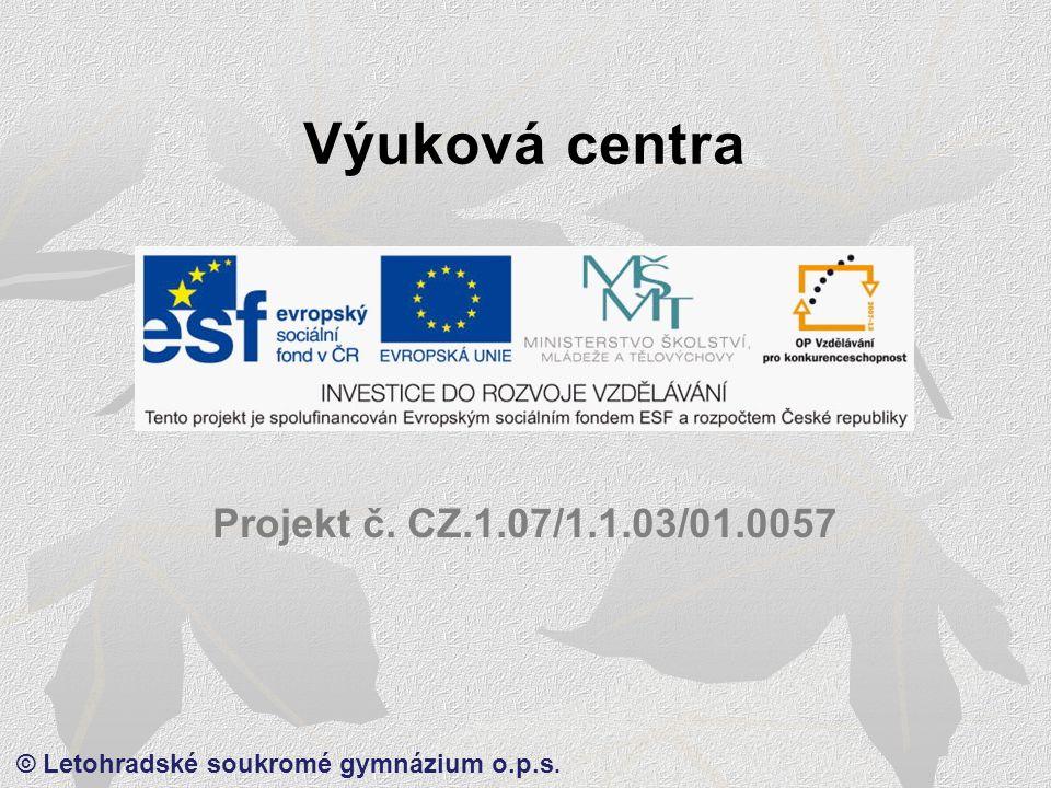 © Letohradské soukromé gymnázium o.p.s.Hloubka ostrosti – Větší clona, větší hloubka ostrosti.