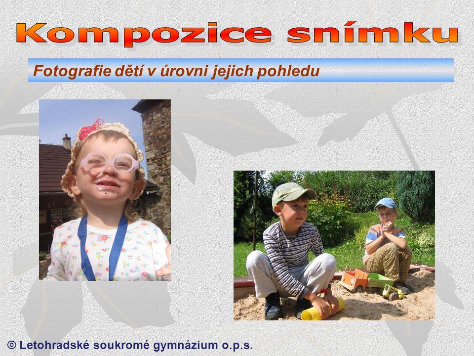© Letohradské soukromé gymnázium o.p.s. Rytmus a orámování.