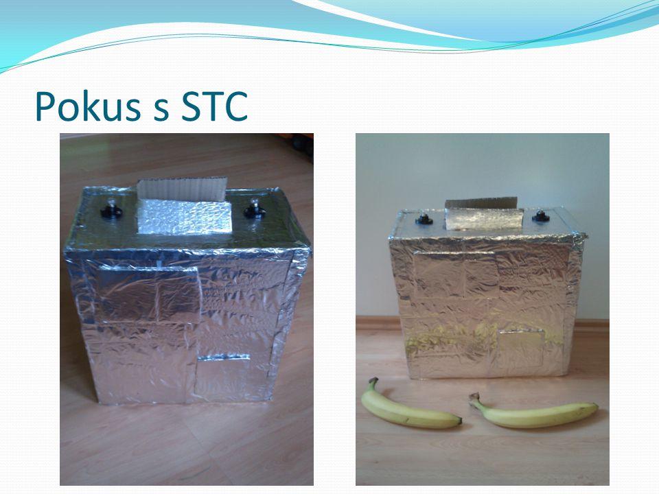 Pokus s STC