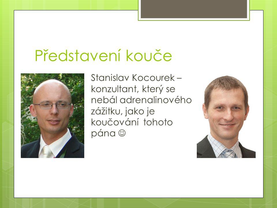 Představení kouče Stanislav Kocourek – konzultant, který se nebál adrenalinového zážitku, jako je koučování tohoto pána
