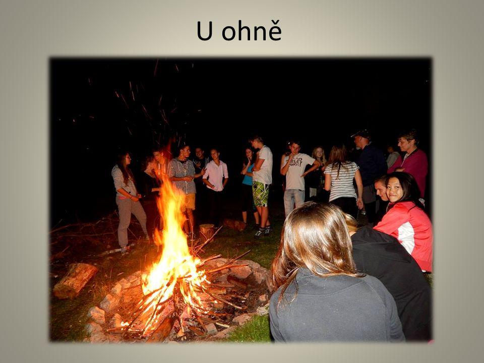 U ohně