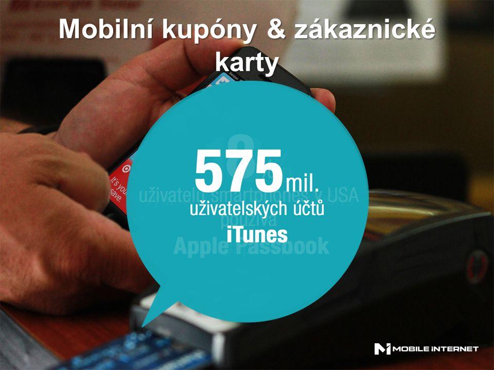 Mobilní kupóny & zákaznické karty