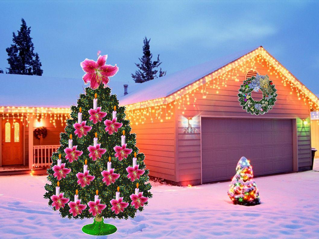 Hvězdný pozdrav sněžných vloček, mnoho dárků pod stromeček.