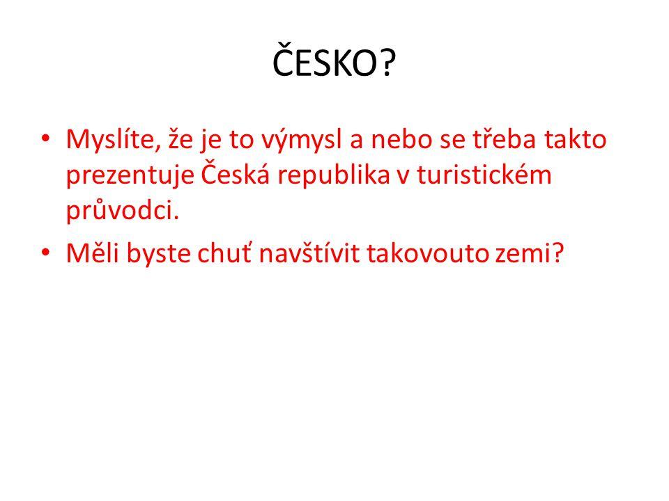 ČESKO.