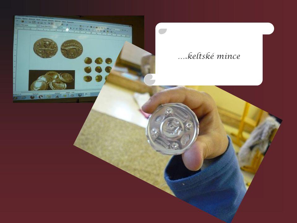 ….keltské mince