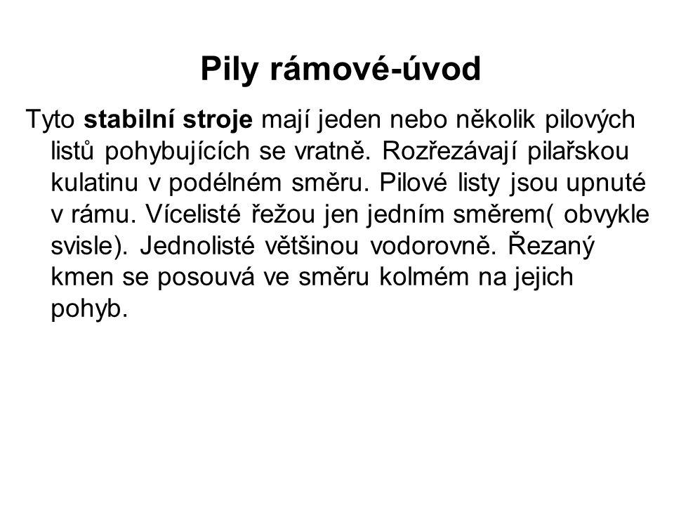 Pily rámové-úvod II Obr.1