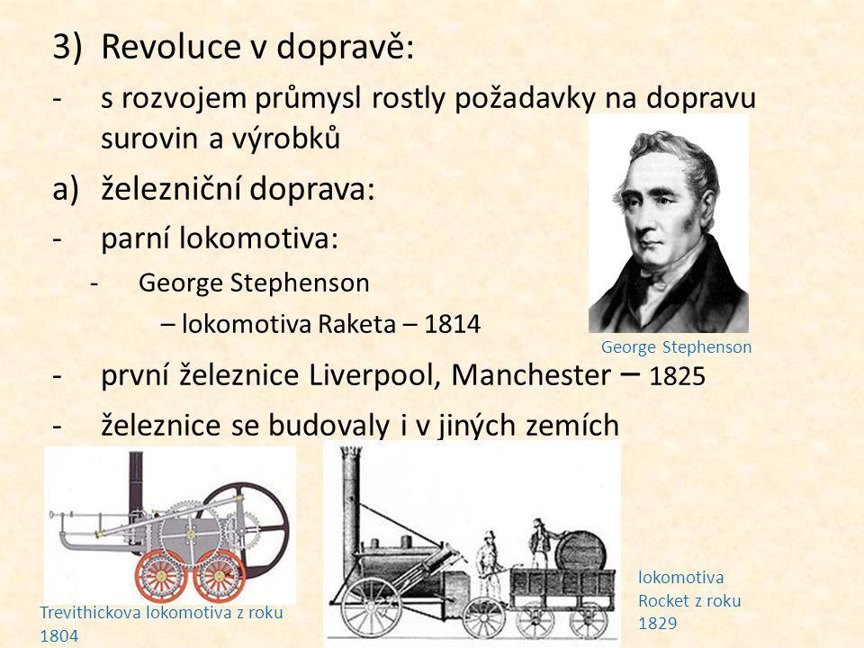 Opakování: Kdy započala první průmyslová revoluce.