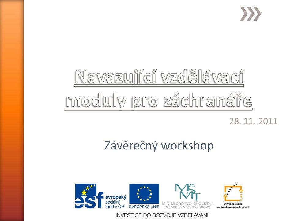 28. 11. 2011 Závěrečný workshop