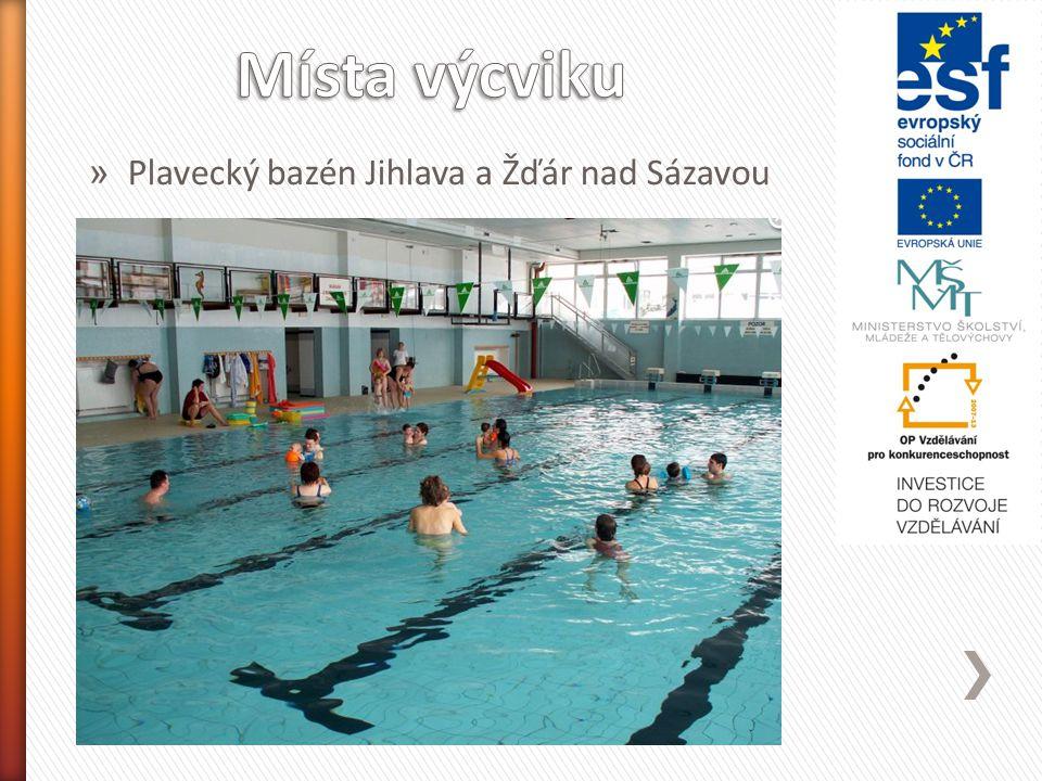 » Plavecký bazén Jihlava a Žďár nad Sázavou