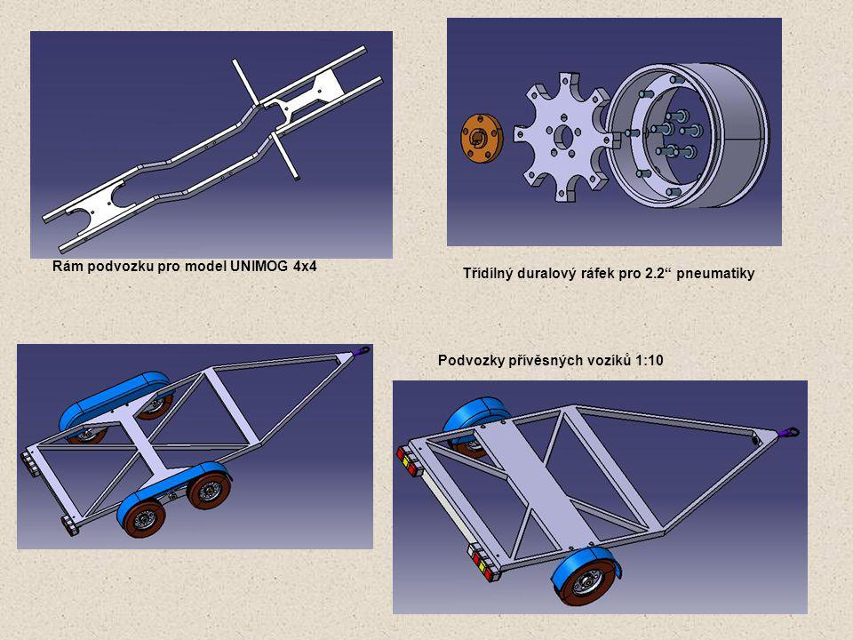 Připravované projekty Trialový podvozek pro modely TATRA (4x4, 6x6, 8x8)