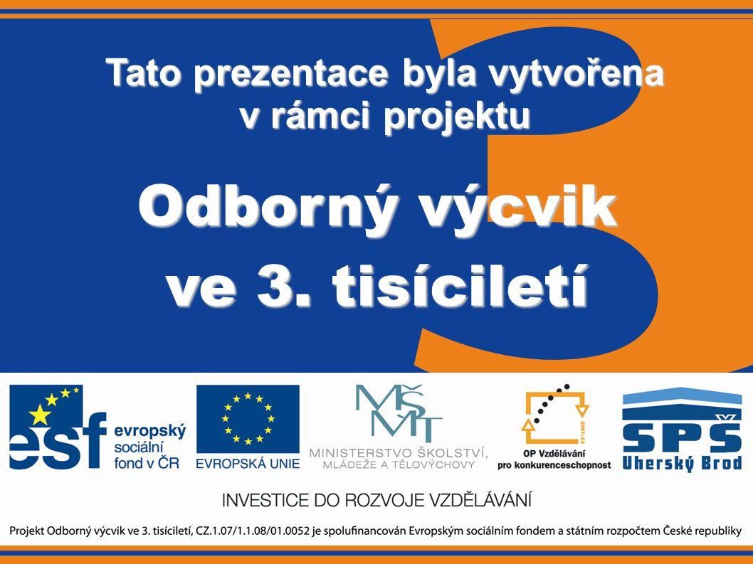 Tento projekt je spolufinancován Evropským sociálním fondem a státním rozpočtem České republiky 2.3 Manipulační prostředky-typy vozíků Obor:Operátor skladování Ročník:3.