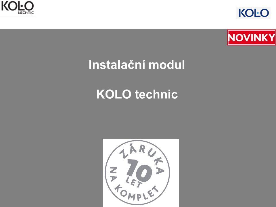 Instalační modul KOLO technic