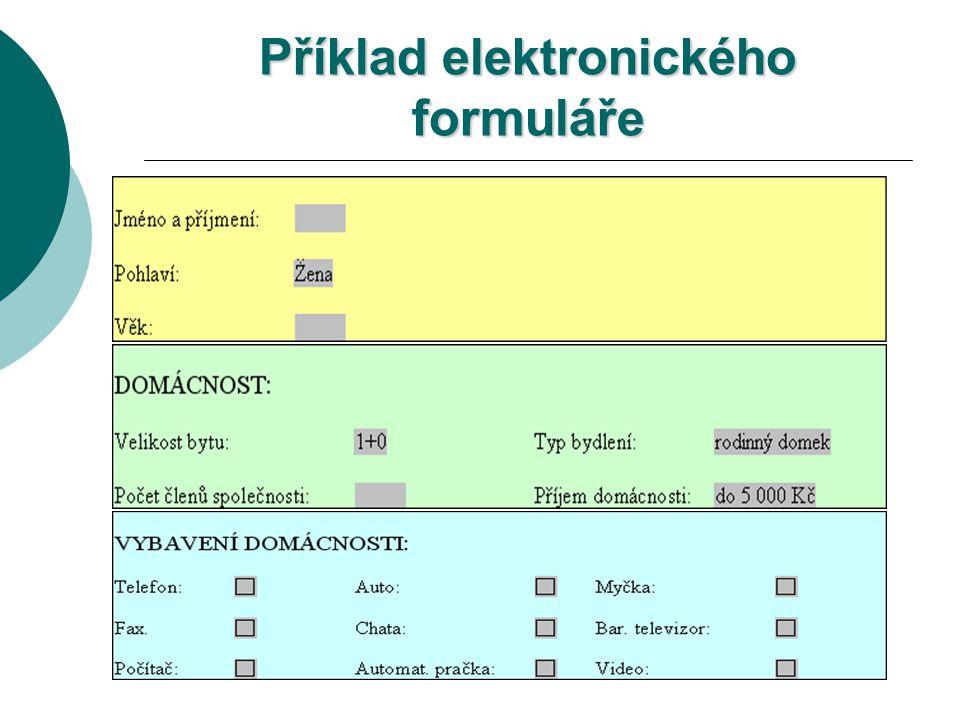 Uložení dat formuláře Nástroje – Možnosti karta Uložit položka Uložit pouze data formulářů