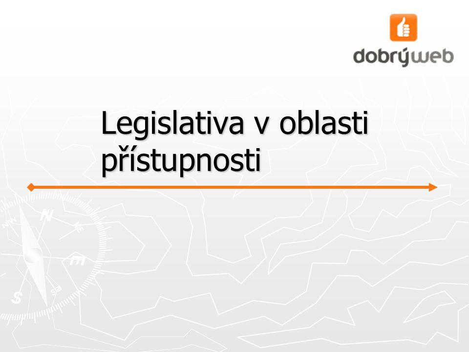 Legislativa v oblasti přístupnosti