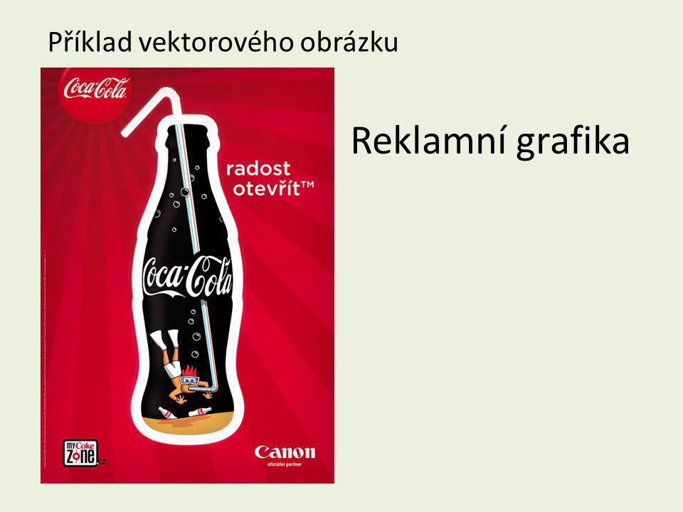 Reklamní grafika Příklad vektorového obrázku