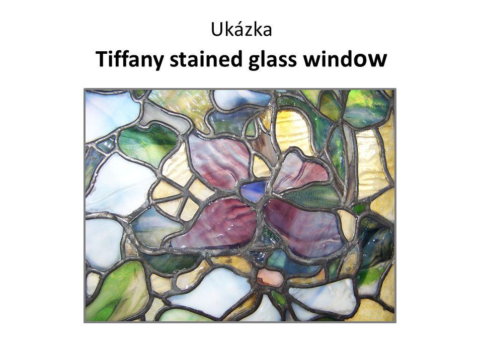 Ukázka Tiffany stained glass wind ow