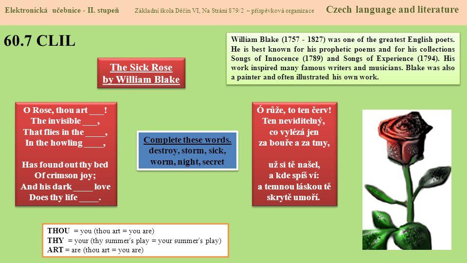 60.8 Test znalostí Správné odpovědi: 1.d 2.c 3.d 4.c Test na známku Elektronická učebnice - II.