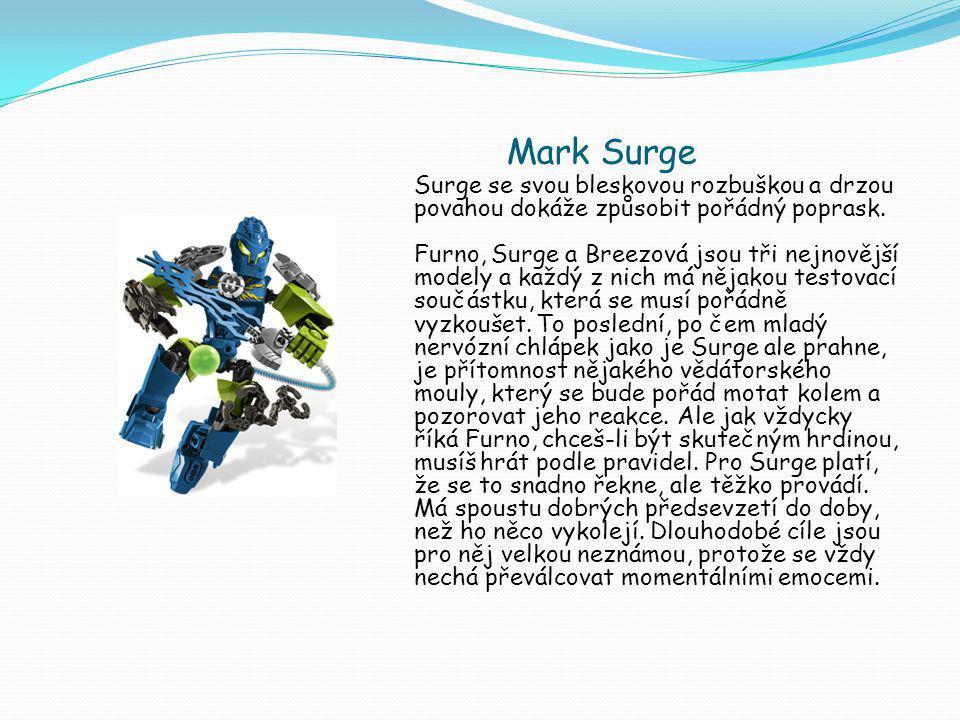 Mark Surge Surge se svou bleskovou rozbuškou a drzou povahou dokáže způsobit pořádný poprask.