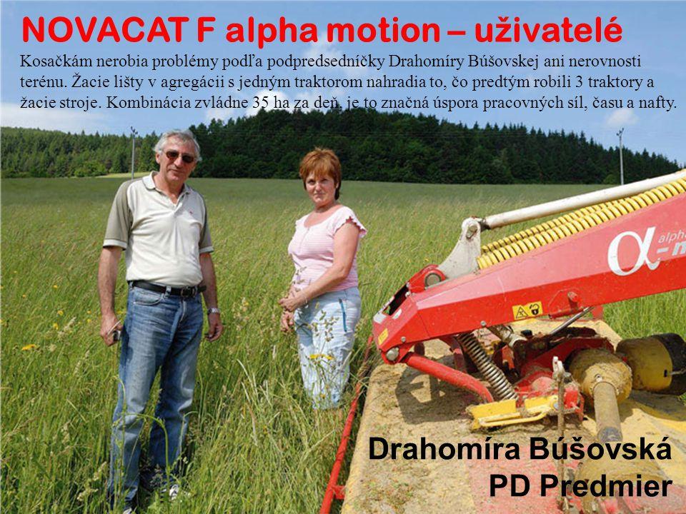 Kosačkám nerobia problémy podľa podpredsedníčky Drahomíry Búšovskej ani nerovnosti terénu.