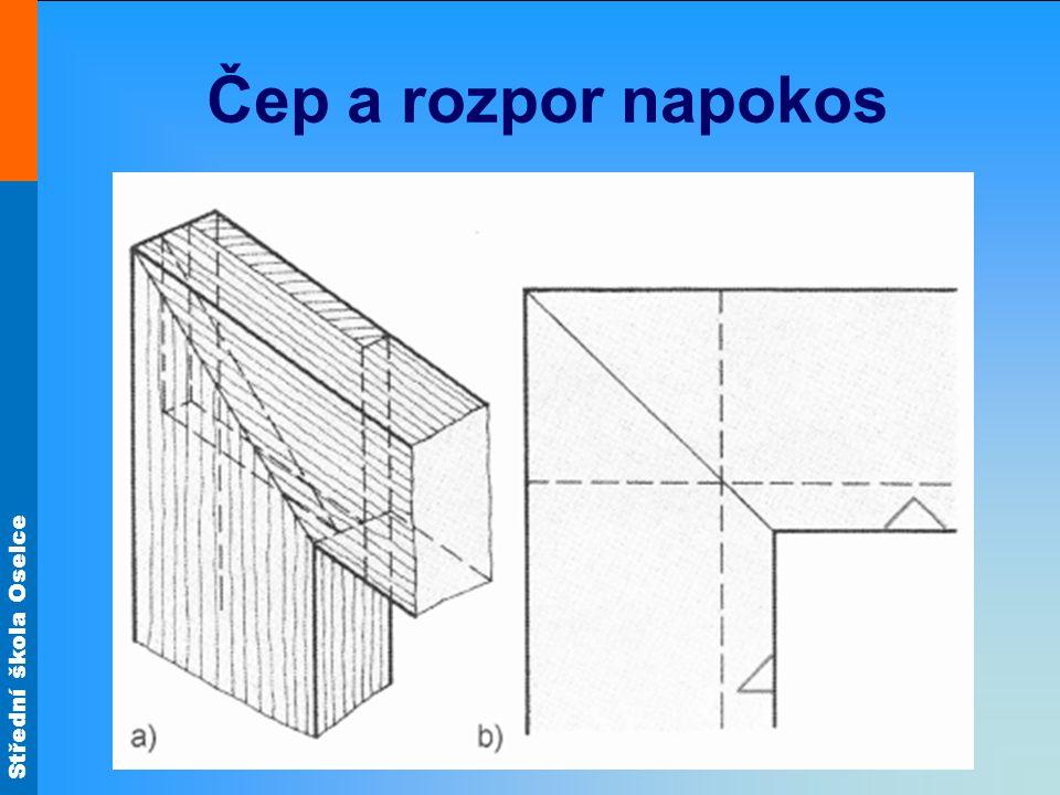 Střední škola Oselce Čep a rozpor napokos