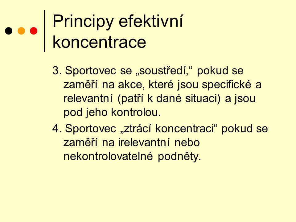 Principy efektivní koncentrace 5.