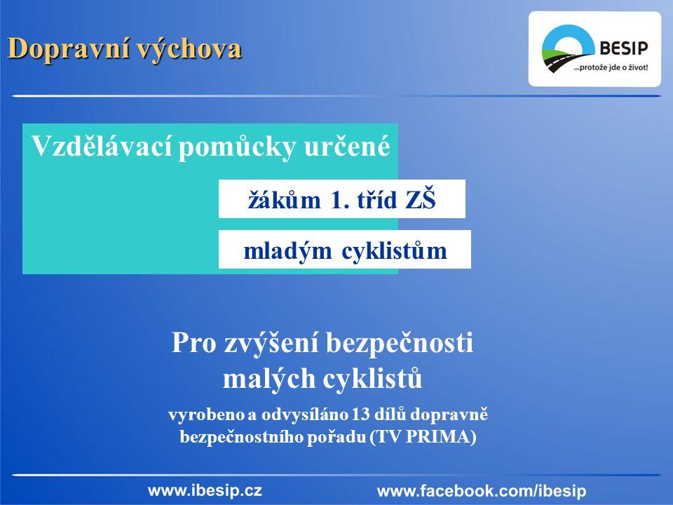 Dopravní výchova Vzdělávací pomůcky určené žákům 1.