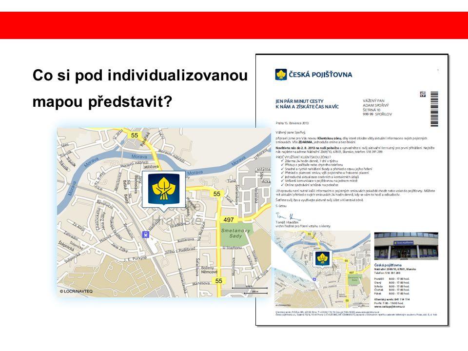 Co si pod individualizovanou mapou představit?